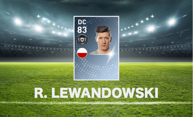 Black-Ball Robert Lewandowski