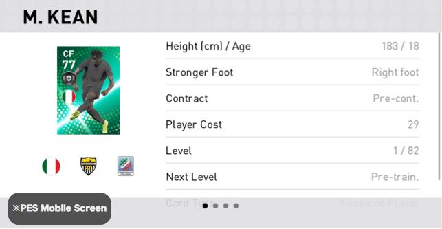 (FP) Moise Kean Player Details