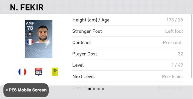 Nabil Fekir Player Detail
