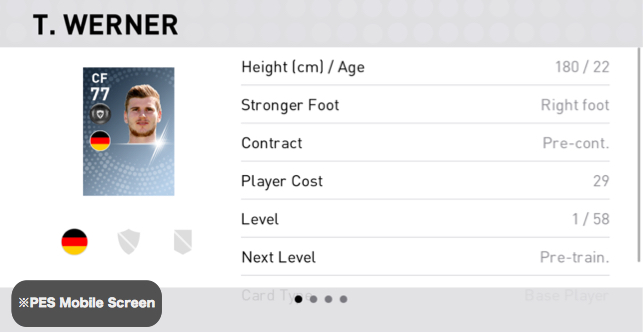 Timo Werner Player Detail