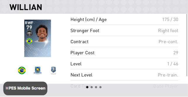 Willian Borges Player Detail